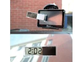 Электронные часы с присоской в авто