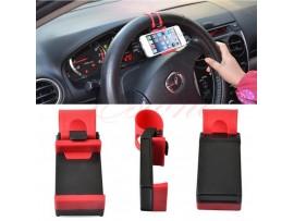Универсальный держатель телефона на руль автомобиля