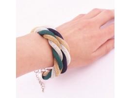 Элегантный женский разноцветный браслет