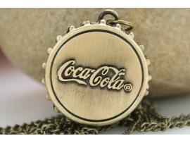 Часы в форме крышки Кока Колы