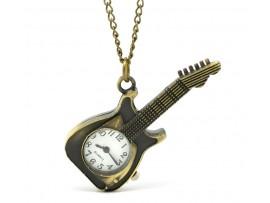 Часы в виде гитары