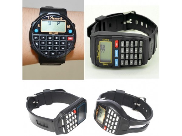 Электронные часы Kenko с калькулятором