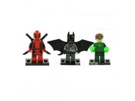 Конструктор Бэтмен, Робин и Дэдпул