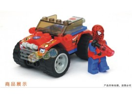 Конструктор Человек паук на джипе