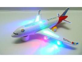 Музыкальный пассажирский самолет игрушка