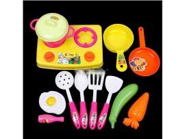 Игрушечный набор детской посуды (13шт)