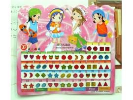Маленькие наклейки для девочек (60шт)