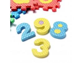 Детский развивающий пазл из 36 элементов английский алфавит