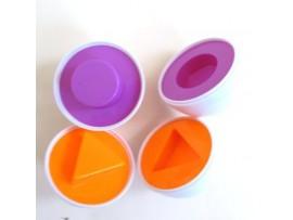 Детская головоломка Яйцо на сообразительность (6шт)