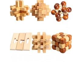 Китайская деревянная головоломка