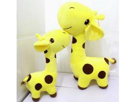 Плюшевый жираф с присоской