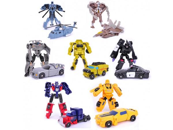 Набор роботов Трансформеров (7шт)
