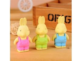 Ластик в форме кролика