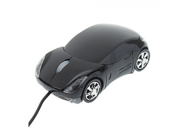 Мышка в виде машинки