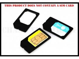 Адаптер для микро сим карты (10шт)