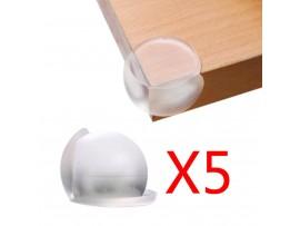 Защита от острых углов мебели для детей (5шт)