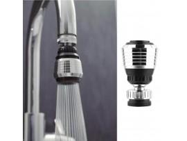 Водосберегающий аэратор для смесителя с поворотом 360 градусов