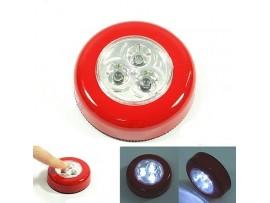 Самоклеющийся 3-светодиодный светильник на батареях