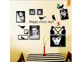 Романтические рамки на стену