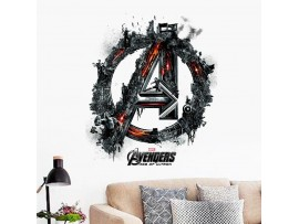 3D-наклейка на стену «Мстители»