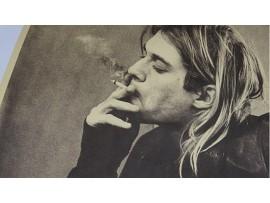Постер с Куртом Кобейном