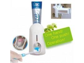 Автоматический дозатор для зубной пасты + держатель для зубных щеток