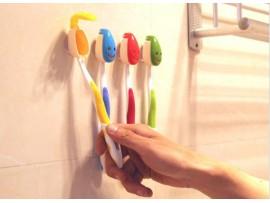 Держатель зубных щеток на присосках (4шт)