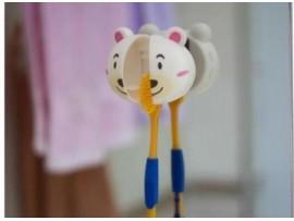 Детский держатель для зубной щетки с присосками