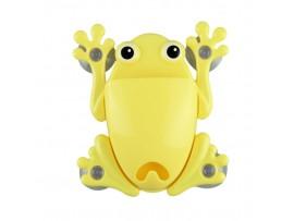 Лягушка на присосках для хранения зубных щеток и зубной пасты
