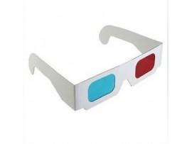 Картонные 3D очки