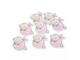 Деревянные младенцы для скрапбукинга (30шт)