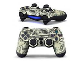 Наклейка Доллар для джойстика Playstation 4