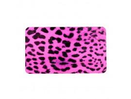 Наклейка Розовый леопард на контроллер PS 4