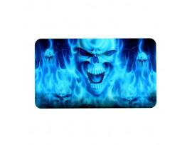 Наклейка Синий череп на контроллер Playstation 4