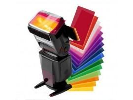 12 цветных фильтров для освещения на Canon, Nikon, Sony, Pentax и т.д.