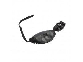 Черный кожаный ремешок для камер Canon, Sony SLR/DSLR, Nikon