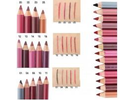 Профессиональные водонепроницаемые карандаши для губ, глаз или бровей (12шт)