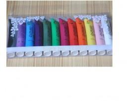 Акриловые краски Oumaxi (12мл, 12шт)