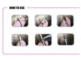 Мягкие силиконовые кольца для наращивания волос (100шт)