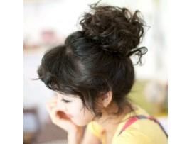 Волнистые волосы для наращивания, волнистый хвостик
