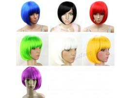 Яркие короткие парики