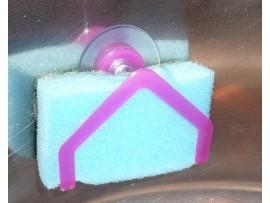 Держатель губки для мытья посуды на присоске