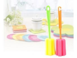 Губка с ручкой для мытья стаканов и кружек