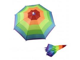 Дачный зонтик на голову
