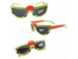 Детские складные очки солнцезащитные в форме жука