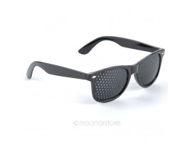 Перфорированные очки для тренировки зрения