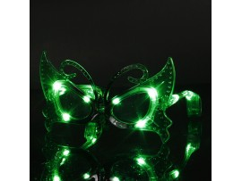 Светящиеся очки бабочки