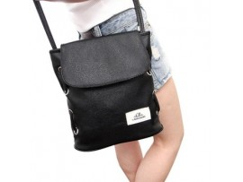 Женская сумка-мессенджер из ПУ кожи