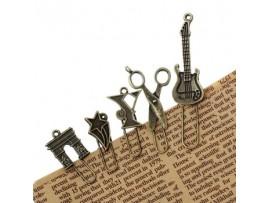 Оригинальные металлические закладки для книг (30шт)