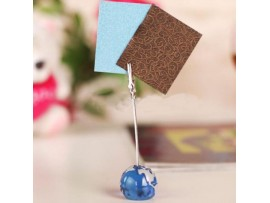Памятка держатель для бумаги, визиток и т.д. в форме глобуса